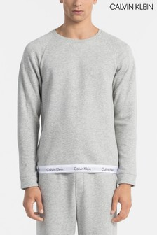 Calvin Klein Grey Modern Cotton Sweatshirt
