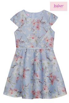 baker by Ted Baker Blue Floral Dress