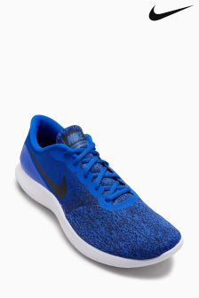 Nike Blue Flex Contact Running Shoe