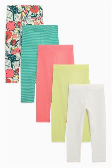 Bright Leggings Five Pack (3mths-6yrs)