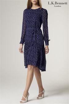 L.K.Bennett Perl Printed Dress