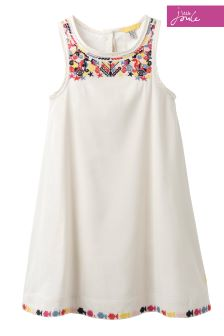 Joules Cream Dress