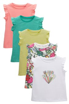 Summer T-Shirts Five Pack (3mths-6yrs)