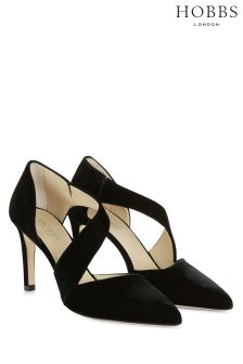 Hobbs Black Ada Court Shoe