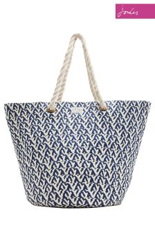 Joules Natural Palermo Beach Bag