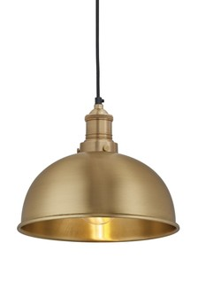 Industville Brooklyn Small Brass Shade