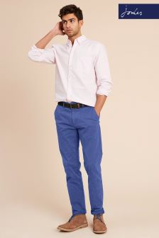 Joules Skipper Blue Laundered Chino Trouser