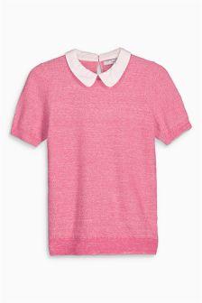 Short Sleeve Collar Layer