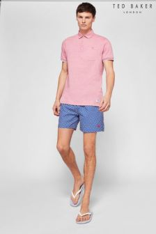 Ted Baker Blue Caven Swim Short