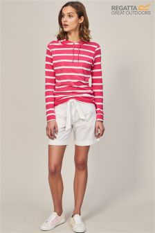 Regatta White Samarah Short Shorts