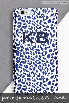Personalised Leopard Print Phone Cover By Koko Blossom