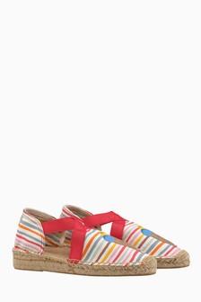Cath Kidston® Tresco Stripe Elasticated Espadrille