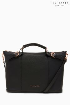 Ted Baker Black Medium Bridle Tote Bag