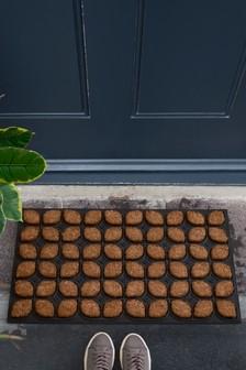 Floral Boot Scraper Doormat