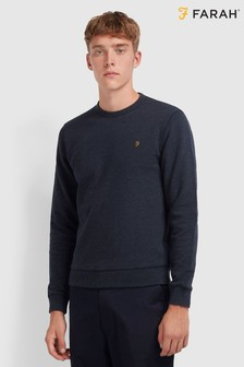 Farah Blue Tim Basic Crew