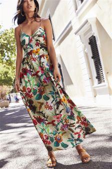 Bow Back Maxi Dress