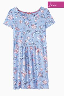 Joules Blue Indienne Floral Madison Tunic