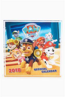 Paw Patrol 2018 Calendar