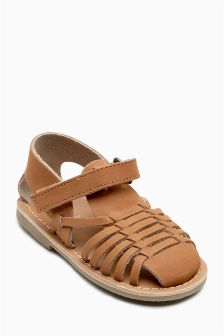 Leather Huarache Sandals (Younger Boys)