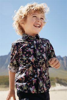 Floral Long Sleeve Shirt (3mths-6yrs)