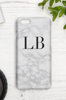 Personalised Marble Initial Phone Cover By Koko Blossom
