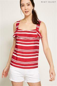 Mint Velvet Bold Stripe Cami