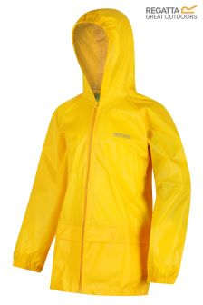 Regatta Yellow Kids Stormbreak Jacket