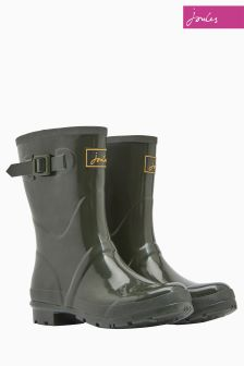 Joules Olive Gloss Kelly Welly
