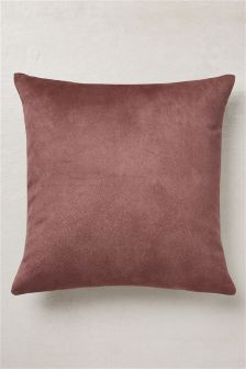 Textured Faux Leather Cushion