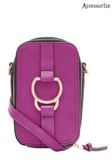 Accessorize Pink Dawson Camera Bag