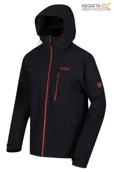 Regatta Black Birchdale Waterproof And Breathable Jacket