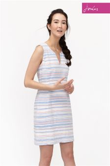 Joules Multi Stripe Elayna Shift Dress