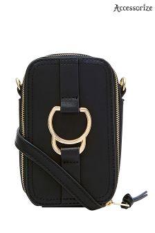 Accessorize Black Dawson Camera Bag