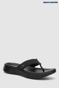 Skechers® On-The-Go Black 3 Point Sandal