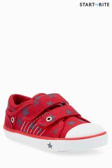Start-Rite Red Zip Shoe
