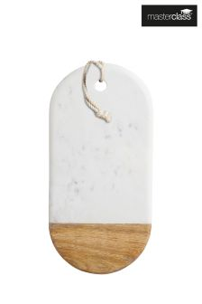 Masterclass White Marble Serving Board