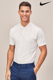Nike Golf White Dry Fit Polo