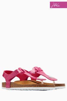 Joules True Pink Sunshine Sandal