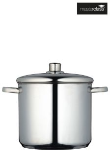 MasterClass Stainless Steel Stockpot