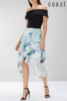 Coast White Mace Print Skirt