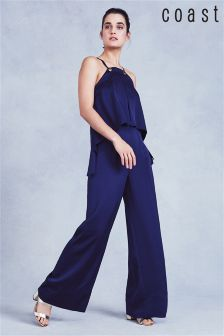 Coast Navy Delani Jumpsuit