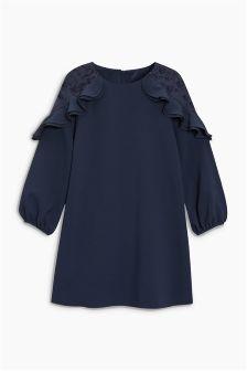 Lace Shoulder Dress (3-16yrs)