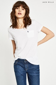 Jack Wills White Fullford T-Shirt
