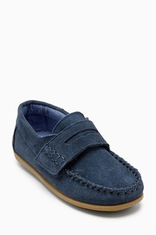 Suede Penny Loafers (Younger Boys)