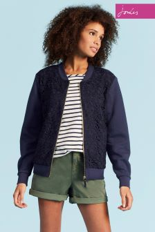 Joules Navy Millie Texture Sweatshirt