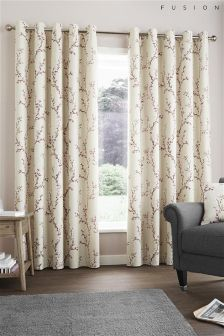 Fusion Hemsworth Eyelet Curtains
