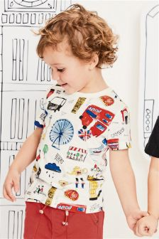 London Print T-Shirt (3mths-6yrs)