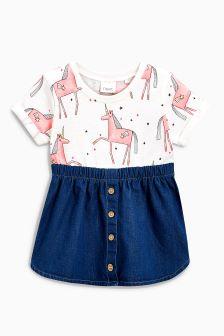 Unicorn Dress (3mths-6yrs)