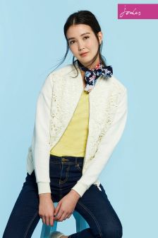Joules Cream Millie Texture Sweatshirt