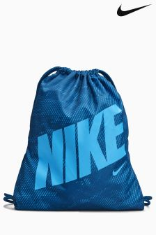 Nike Blue Graphic Gymsack